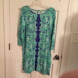 Lilly Pulitzer Marlowe boatneck t shirt dress